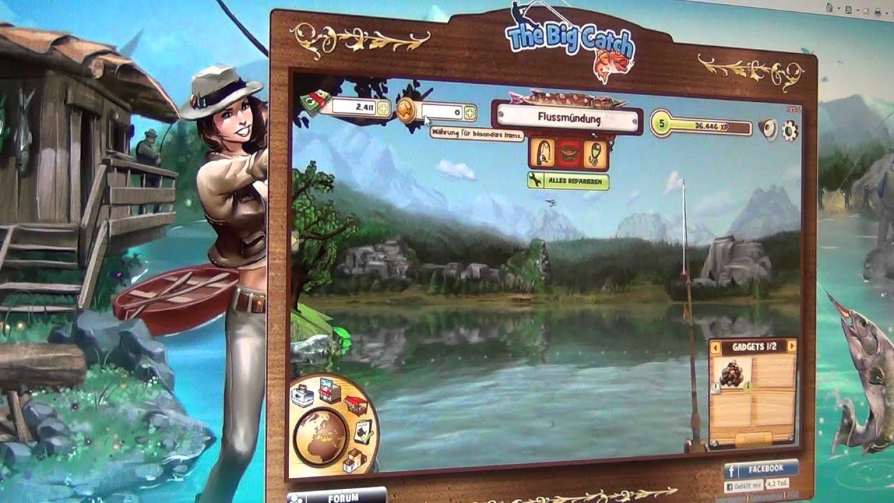 catch and count fishing game instructions