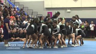 Summit High School cheerleading competition 2016
