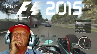 F1 2015 GAMEPLAY! Testing Out Voice Commands!