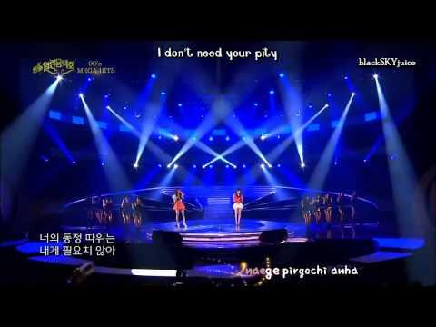 Davichi - I'm Alright (I Will Survive Korean version) LIVE [roman + eng sub]