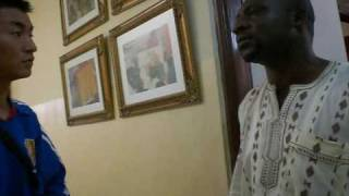 ガーナサッカー協会を訪問してきました