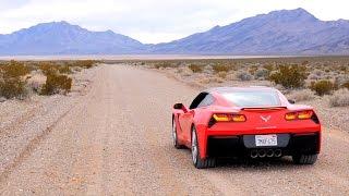 Убиваем Corvette в Долине Смерти