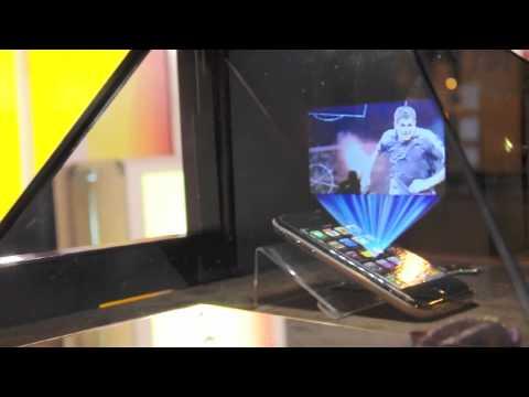 hologram projection machine