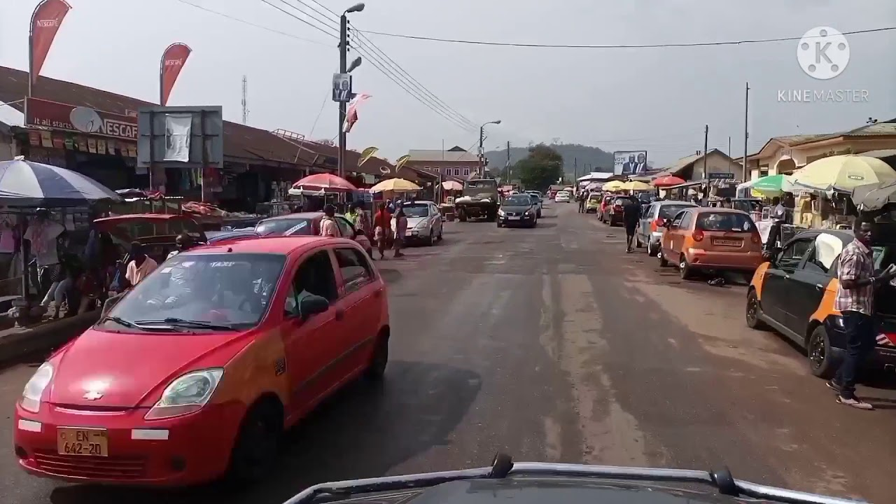 Download Touring Kwahu in the Eastern Region of Ghana ( Stopovers & Food enroute to Kwahu)
