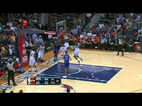 NBA New York Knicks VS Atlanta Hawks (March 30,2012)Match RECAP