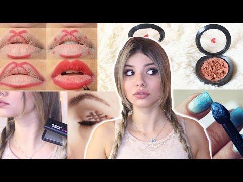 MELHORES Truques de Beleza do PINTEREST testados!! #VEDA18