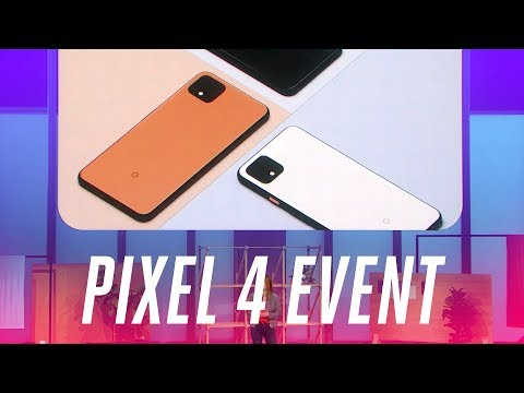The biggest announcements from Google's 2019 Pixel event