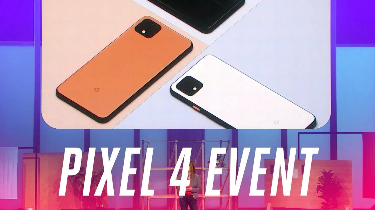 Google Pixel 4 event in 10 minutes