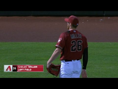 PIT@ARI: Miller gets the nod to play left field