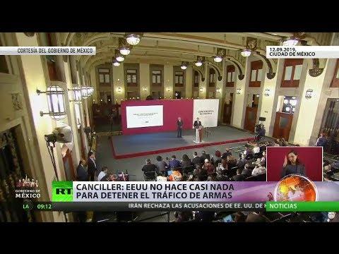 RT en Español: México busca congelar el tráfico de armas procedente de EE.UU.