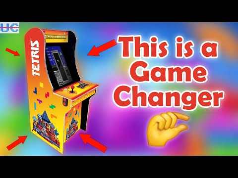 AtGames 3/4th Arcade Is A GAME CHANGER: the open and connected Arcade1up alternative from Unqualified Critics
