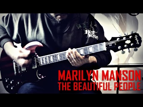Marilyn Manson - The Beautiful People (Guitar Cover)
