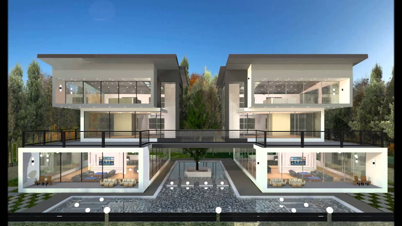 Twin bangalow concept design by interior my