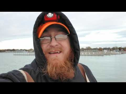 Fishing For Burbot On The Tawas State Dock