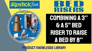 Bed Risers Slipstick Cb650 & Cb652 8in Bed Riser Combo Installation