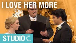 Dad Officiates the Wedding - Studio C