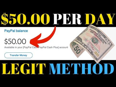 Make Money Online 2019 Legit Method - Earn $50.00 Per Day For Free