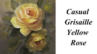 Casual Grisaille Yellow  Rose