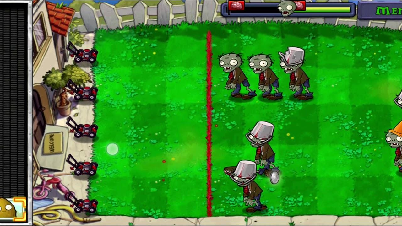 Παιζουμε Plants vs Zombies με τους M.J Music - YouTube