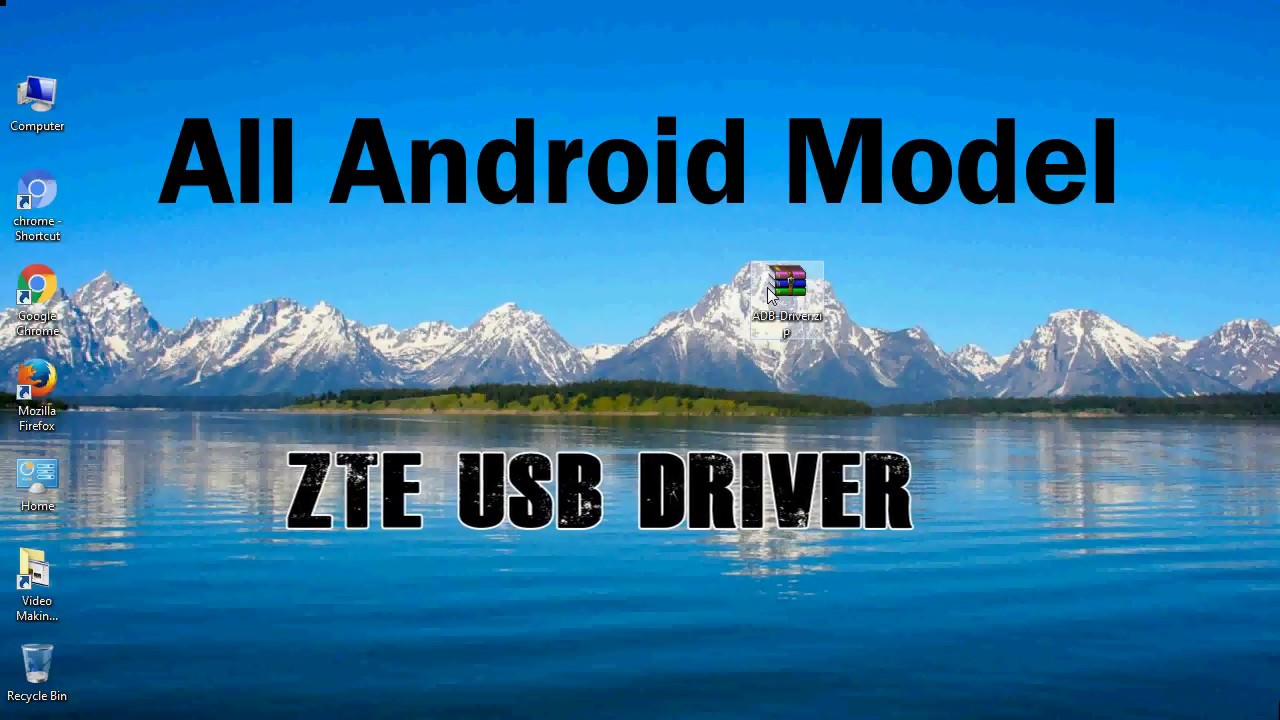 How to Install ZTE USB Driver for all Models | Android phone driver