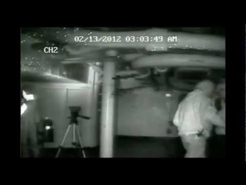 Ghost caught banging and whistling on the USS Hornet
