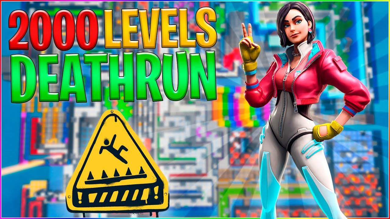 2000 LEVEL DEATHRUN! | Dansk Fortnite