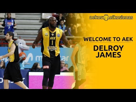 Delroy James • Welcome Back to AEK Athens BC • HD
