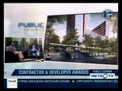 Talk Show MetroTV with Contractor & Developer IA 2014