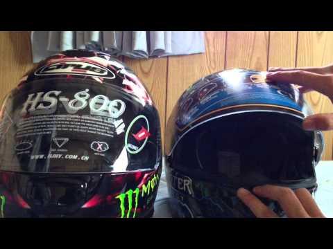 HJC cirus HS-800 &HS-11 紹介 比較 モンスターエナジー monster energy helmet