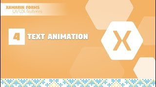01- Animation on splash screen in Xamarin Forms [Awesomekit Project]
