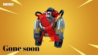 Fortnite Jet pack is leaving soon.... Good!