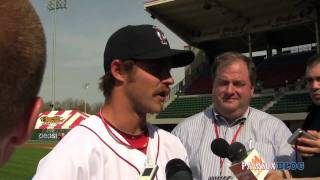 Josh Reddick- PawSox Media day