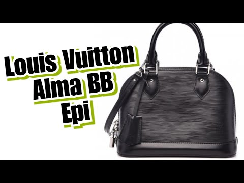 louis-vuitton-alma-bb-epi-leather-noir-unboxing-+-wimb-+-modshots