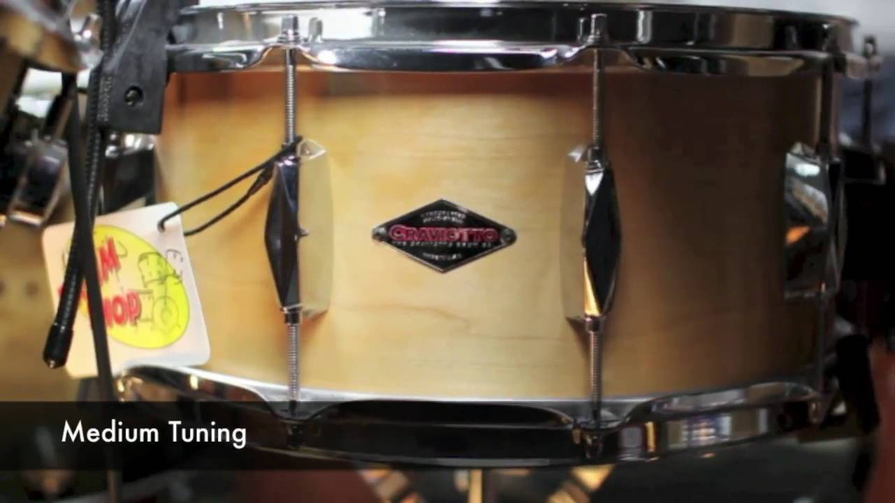 Craviotto Johnny C 6 5x14 Snare Drum - YouTube