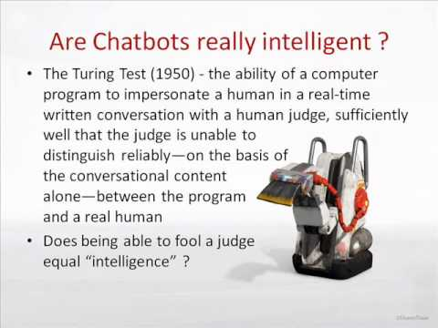 COMPUTATIONAL LINGUISTICS - CHATBOTS