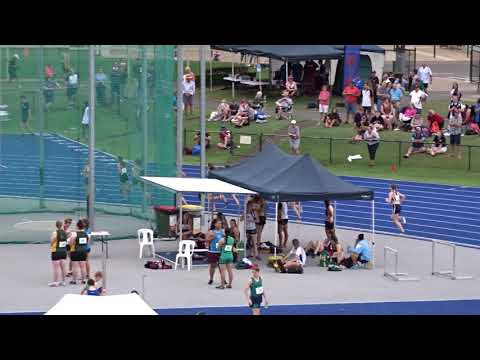 2000m Steeplechase 14-15yrs Girls Final, 13-19yrs Schools State Championships, QSAC 14/10/2017