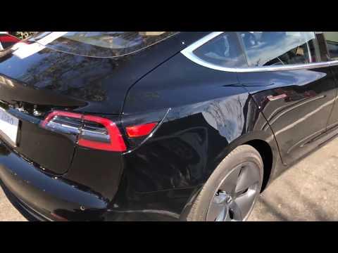 Vi lader Tesla Model 3 på en Tesla Supercharger