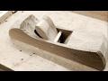 Krenov style wooden hand plane