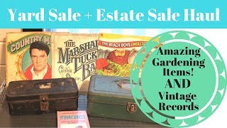 2 Yard Sales, Estate Sale and A Moving Sale Haul! Part Two