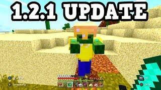 Minecraft Xbox / PE 1.2.1 Update W/ BETTER INVENTORY