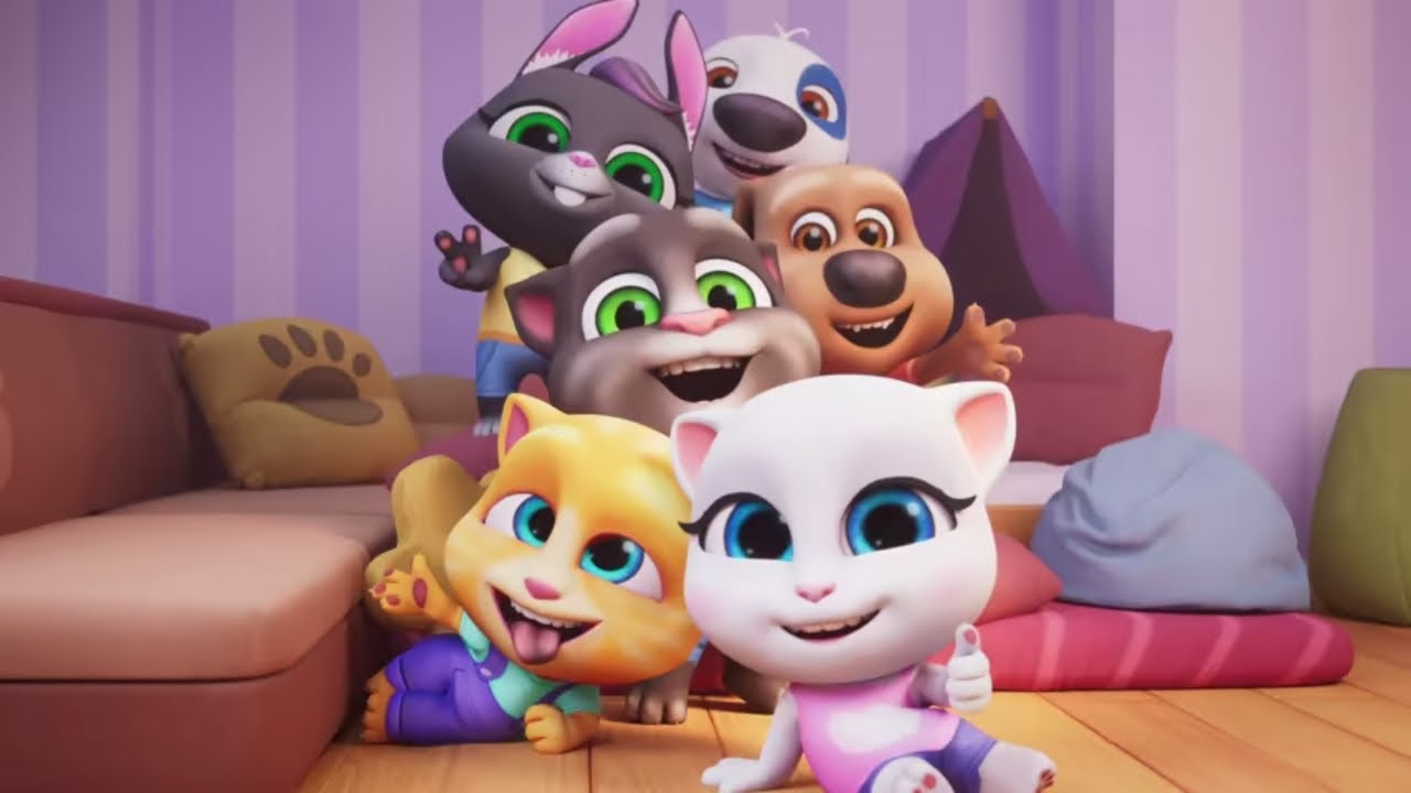 EXCLUSIVE PREVIEW: My Talking Tom Friends (NEW GAME) - YouTube