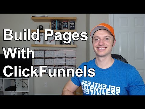 How To Use The ClickFunnels Page Builder/Editor