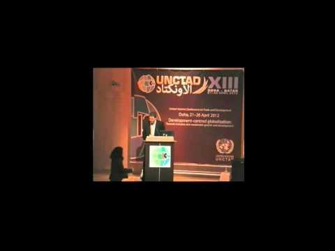 "UNCTAD XIII ITUC ""Trade for Development"" Panel: Yorgos Altinzis"