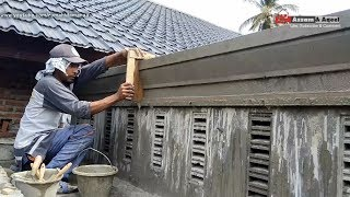 Cara Membuat Profil Beton Carport Rumah Minimalis   #Eps56