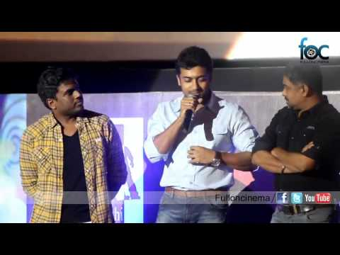 Surya Sings Anjaan 'Ek Do Teen' Song Onstage  Singam hero singing Fulloncinema