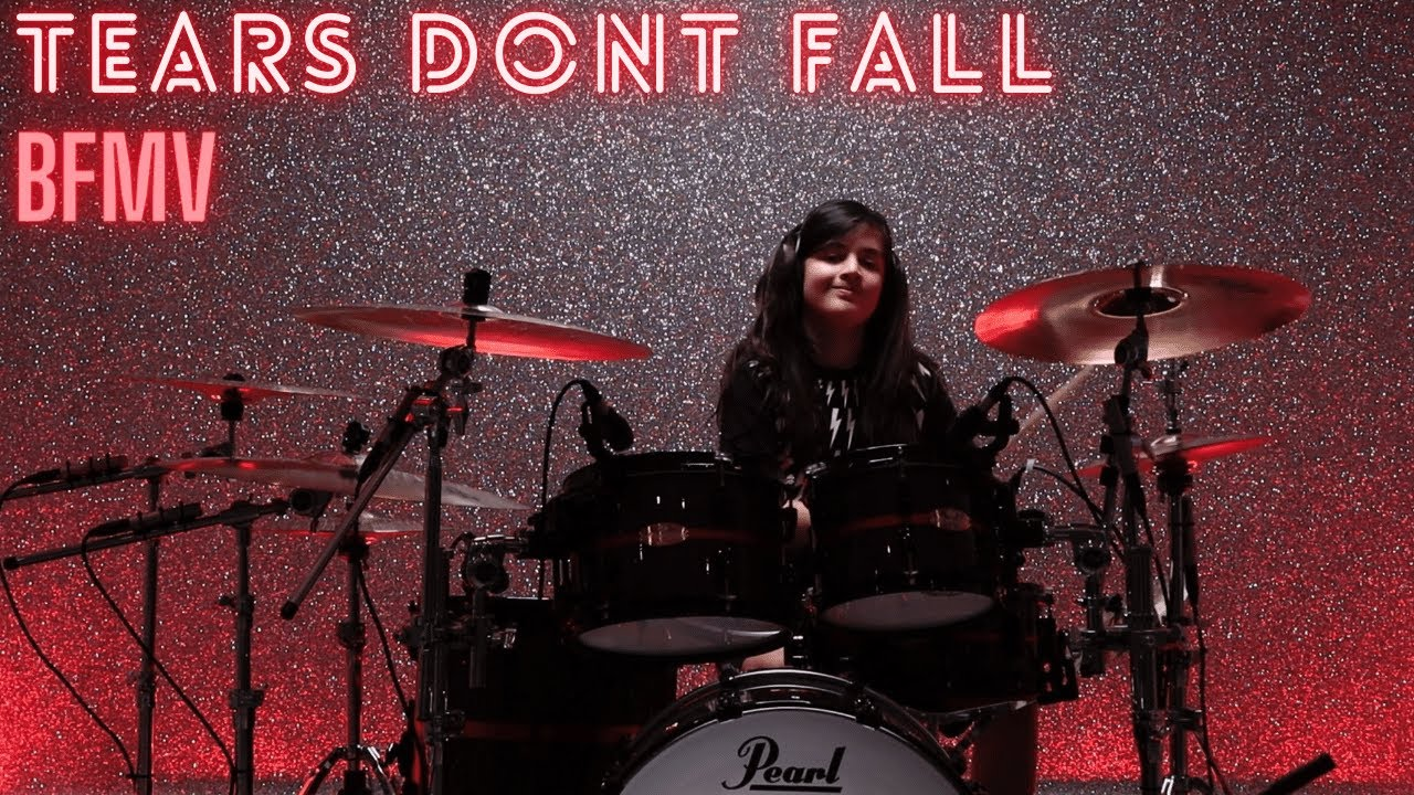 Tears Don't Fall - Bullet For My Valentine | Drum Cover By Henry Chauhan