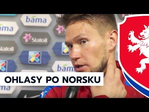 Ohlasy po remíze 1:1 v Norsku