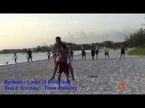 2015 Barbados Junior National Basketball Beach Session