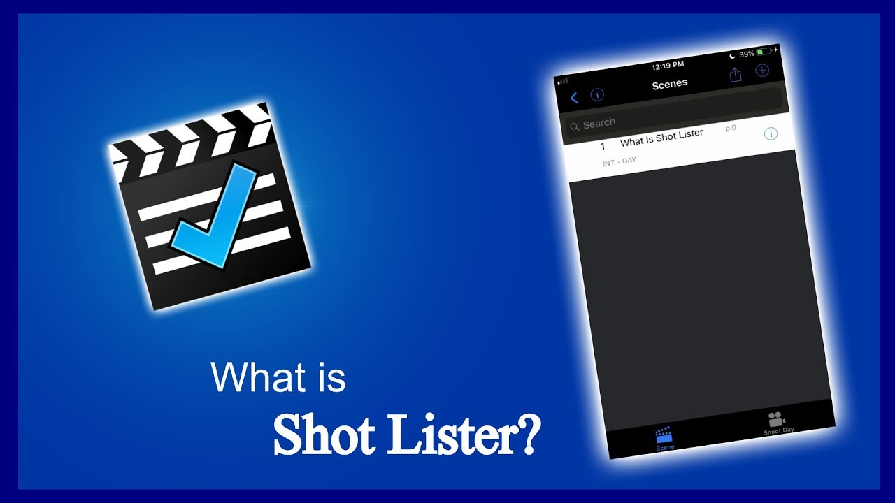 What is Shot Lister?