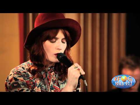 Florence and the Machine - Never Let Me Go (Live at KFOG Radio)